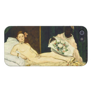 Olympia by Edouard Manet Cover For iPhone 5/5S