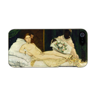 Olympia by Edouard Manet Incipio Feather® Shine iPhone 5 Case