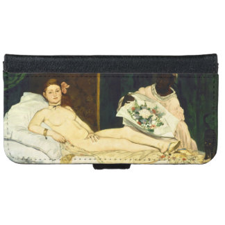 Olympia by Edouard Manet iPhone 6 Wallet Case