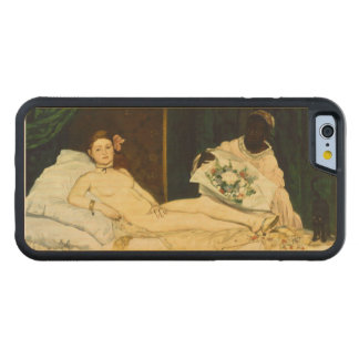 Olympia by Edouard Manet Carved® Maple iPhone 6 Bumper Case