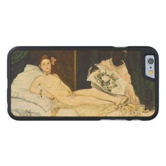 Olympia by Edouard Manet Carved® Maple iPhone 6 Case