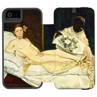 Olympia by Edouard Manet Incipio Watson™ iPhone 5 Wallet Case