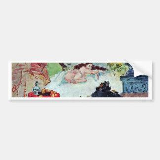 Olympia By Paul Cézanne (Best Quality) Car Bumper Sticker