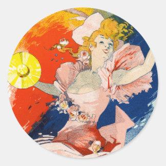 Olympia, Jules Chéret Stickers