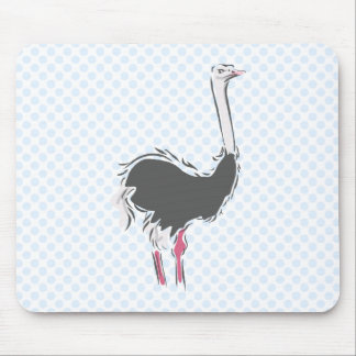 Olympia Ostrich Mouse Pad