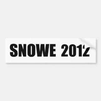 OLYMPIA SNOWE BUMPER STICKER