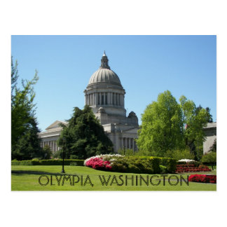 Olympia, Washington State Travel Photo Postcard