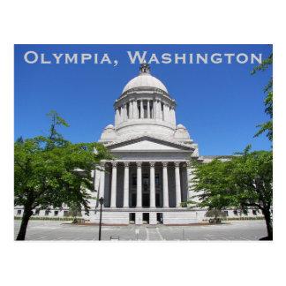 Olympia, Washington Travel Photo Postcard