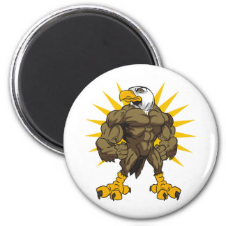 Olympian Eagle 2 Inch Round Magnet