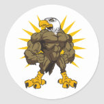 Olympian Eagle Classic Round Sticker