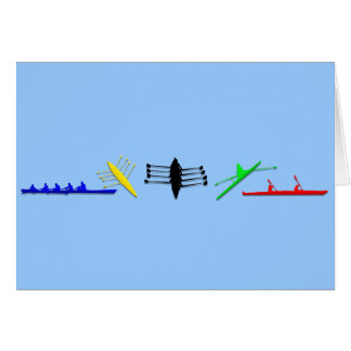 Olympian Mens Athlete Rowing Womens Sports Card