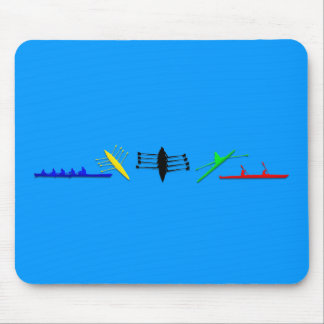 Olympian Mens Athlete Rowing Womens Sports Mouse Pad