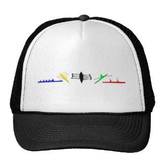 Olympian Mens Athlete Rowing Womens Sports Trucker Hat
