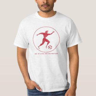 Olympian Soccer / Football T-Shirt