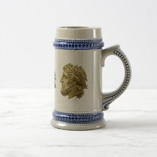 Olympian Zeus 18 Oz Beer Stein