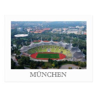 Olympiapark, postal de Munich