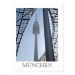 Olympiaturm Postcard