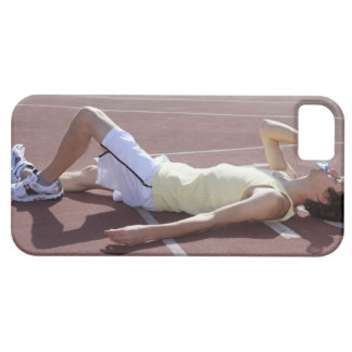 Olympic 2012 Athlete drinking after race iPhone SE/5/5s Case