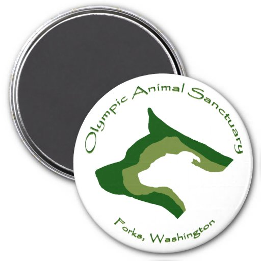 Olympic Animal Sanctuary Magnet