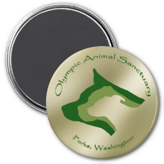 Olympic Animal Sanctuary Refrigerator Magnet