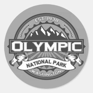 Olympic Ansel Adams Classic Round Sticker