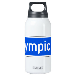 Olympic Boulevard, Los Angeles, CA Street Sign Insulated Water Bottle