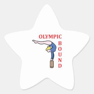 Olympic Bound Star Sticker
