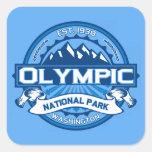 Olympic Cobalt Square Sticker