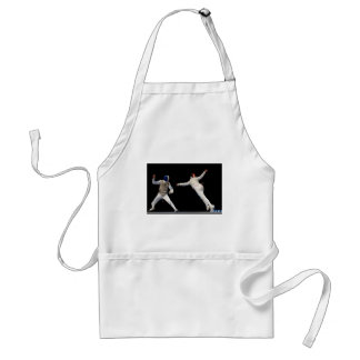 Olympic Fencing Lunge and Parry Adult Apron