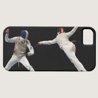 Olympic Fencing Lunge and Parry iPhone SE/5/5s Case