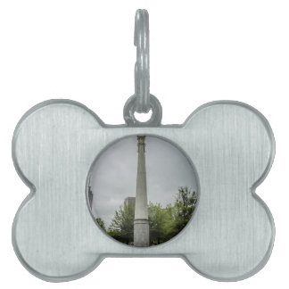 Olympic flame pet ID tag