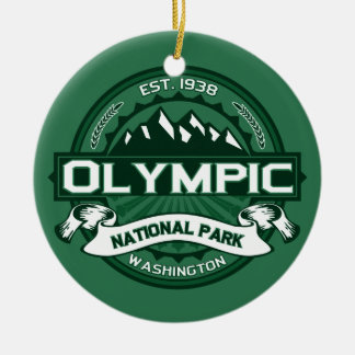 Olympic Forest Ceramic Ornament