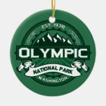 Olympic Forest Christmas Ornament
