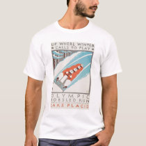 Olympic Fun Lake Placid 1936 WPA T-Shirt