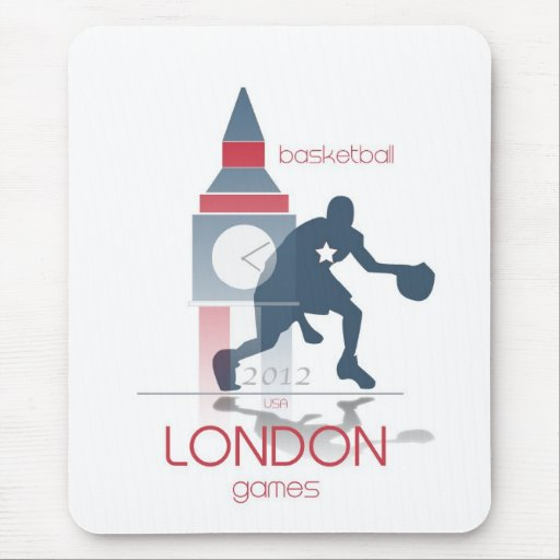 Olympic Games: Basketball Mouse Pad