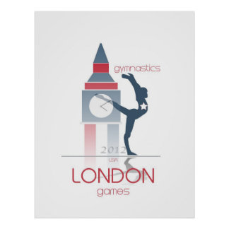 Olympic Games: Gymnastics Poster