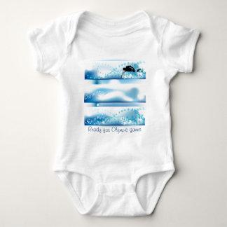 Olympic games item baby bodysuit