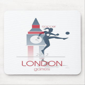 Olympic Games: Soccer Mouse Pads