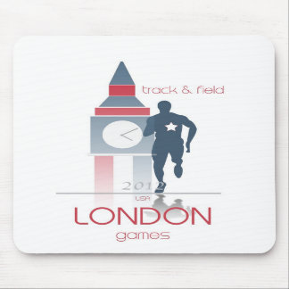 Olympic Games: Track & Field Mouse Pads