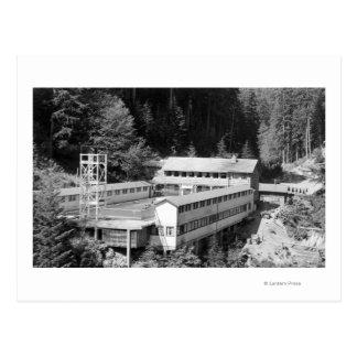 Olympic Hot Springs, WA Lodge View Photograph #1 Postcard