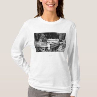 Olympic Hot Springs, WA Lodge View Photograph #1 T-Shirt