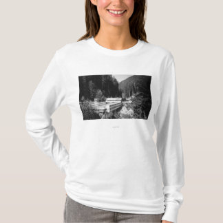 Olympic Hot Springs, WA Lodge View Photograph #2 T-Shirt