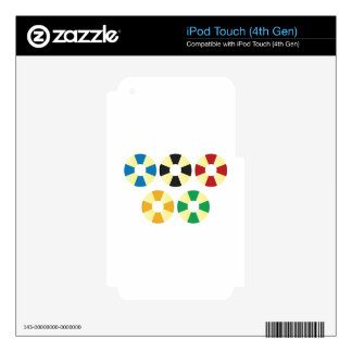 Olympic iPod Touch 4th Gen Skins For iPod Touch 4G
