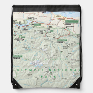 Olympic map backpack