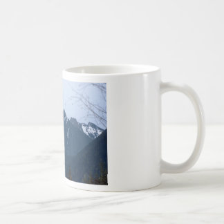 Olympic Mountains Photography Art Design Nature Coffee Mug