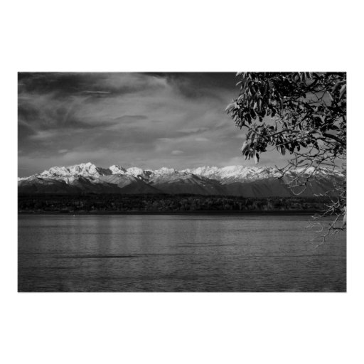 Olympic Mountains Posters