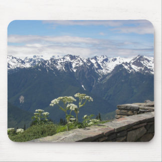 Olympic Mountains View Mousepad