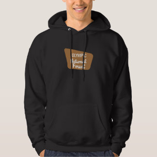 Olympic National Forest (Sign) Hooded Pullover