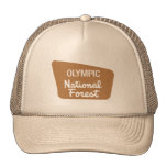 Olympic National Forest (Sign) Mesh Hat