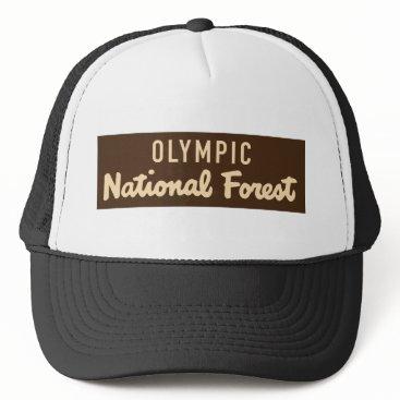 McTiffany Tiffany Aqua Olympic National Forest Trucker Hat